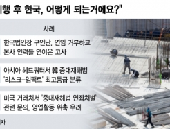 """""""중대재해법 시행 한국은 안가요"""" 외국인 임원들도 손사래"""