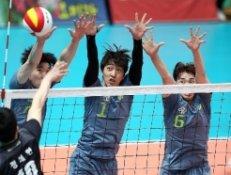 초청 팀 현대캐피탈, 실업연맹전서 국군체육부대에 3-0 완승