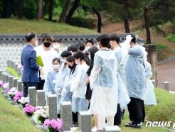 [사진] '이어지는 5·18민주화운동 참배객'