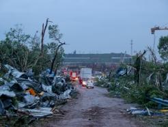 작년엔 전염병 올해는 천재지변…토네이도에 中 우한, 쑥대밭