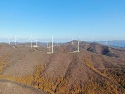 주민참여형 국내1호 풍력발전단지에 출자한 태백시
