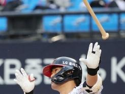 [사진] LG 정주현 '홈런이다'
