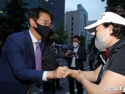[사진] 박용진 의원 광주 찾아 지지호소
