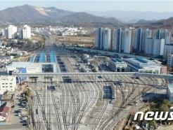 철도공단, 화산동~강제동 잇는 제천역 선상보도육교 개통