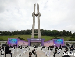 [사진] 구름낀 하늘 아래 진행되는 41주년 5·18 기념식