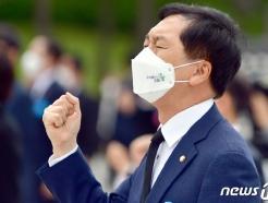 [사진] 5.18 기념식 참석한 김기현 국민의힘 원내대표
