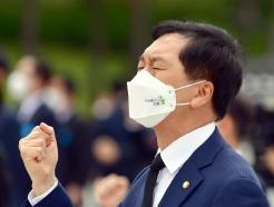 [사진] 김기현 국민의힘 원내대표, 5.18 기념식 참석