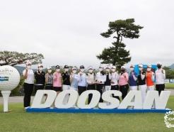 [사진] '2021 두산 매치플레이 챔피언십' 공식 포토콜