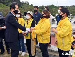 [사진] 4·16가족협 만난 정세균 전 총리