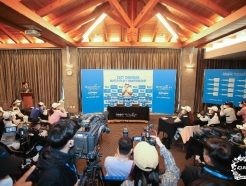 [사진] '2021 두산 매치플레이 챔피언십' 조추첨식