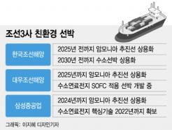 '친환경 강자' 韓조선, 암모니아·수소선박도 1등 야심