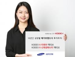 """삼성자산운용, """"액티브 ETF 8종 중 수익률 6%로 1위"""""""