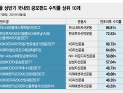 올 상반기 'ETF·원자재·해외펀드' 날았다..국내 주식펀드는 '고전'