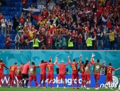 """'우승 후보' 벨기에, UEFA 홈페이지 설문조사서 29% """"우승 가능"""""""
