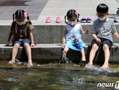 [오늘의 날씨] 경기(14일, 월)…맑은 날씨 속 무더위