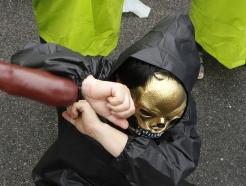 [사진] 동물학대 범죄자 강력 처벌 촉구 퍼포먼스