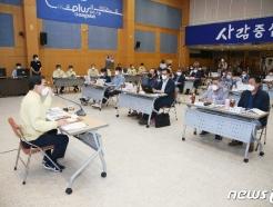 [사진] 취임 3주년 맞은 허성무 창원시장