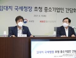 """김대지 국세청장 """"中企 세무조사 제외·유예 늘릴 것"""""""