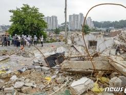 경찰, 건물붕괴 관련 광주시·동구·조합 압수수색(2보)