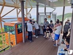 함양대봉산휴양밸리, 관광 핫플레이스 급부상…지난 주말 2500명 방문