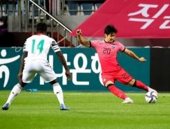 남자 올림픽 축구대표팀, 가나 친선전 2-1 승리(종합)