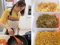 """""""번아웃 걱정돼""""…장영란 퇴근 직후 요리하는 모습에 팬들 응원"""