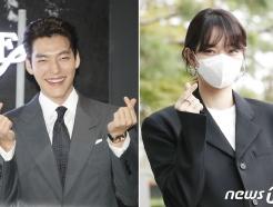 [뉴스1 PICK]'신민아의 연인' 김우빈, 오랜만에 공식석상…'웃고 또 웃고'