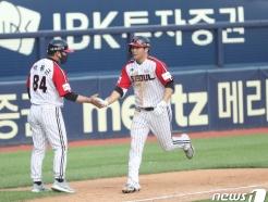 [사진] LG  문보경 '시원한 투런 홈런'