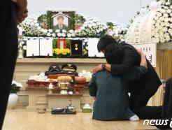 '이천 쿠팡 물류센터 화재' 고 김동식 구조대장 빈소 찾은 전 국무총리들