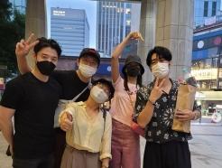 한혜진·박나래·기안84, 이시언 만나 응원…여전한 '나혼산' 의리 [N샷]