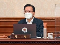 """김부겸 총리 """"코로나19 피해 도움줄 편성 예산 신속히 집행해야"""""""