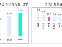 IMF, 한국 성장률 전망 4.3%로…국내외 전망 중 최고치