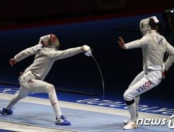 오상욱 '퍼펙트 라운드'… 펜싱 男사브르 단체, 이집트 잡고 준결승