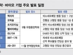 국제학회에서 점검 나서는 K-바이오 기술수출 선봉장들