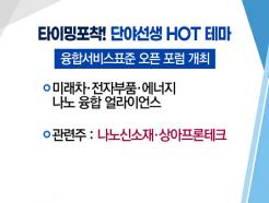 [매매의 기술] '나노 융합 얼라이언스''발족 기대! <나노신소재>