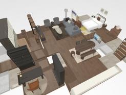 아파트 9만개 도면보고 쓱…<strong>신세계</strong>까사, VR인테리어 서비스 출시