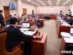 野 법사위, 국정원장 불출석에 항의…'세종의사당 설치법' 통과