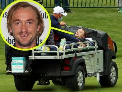 """'말포이' 톰 펠튼, 골프장서 갑자기 쓰러져…""""병원서 치료"""""""