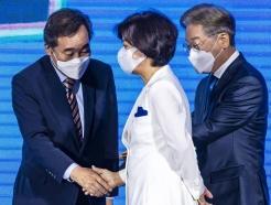 """전북 경선 마친 추미애, 이낙연 겨냥 """"반개혁 세력의 논리를"""""""