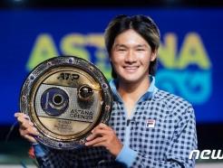 권순우, ATP 첫 우승…한국 선수로는 이형택 이후 18년만에 감격