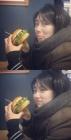 """수지, 먹방 사진 공개…""""햄버거 앞에서도 미모 열일"""""""