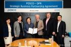 포스코-DPR, '스마트 컨스트럭션' MOU 체결