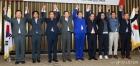 만세 부르는 자유한국당 비대위