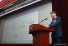 2회 머니투데이-IPO컨퍼런스 발표하는 손기영 회장