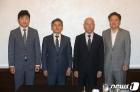 이효성 방송통신위원회 위원장, 지상파3사 사장단과 간담회