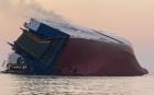 현대글로비스 차량운반선 미국 해상서 전도…한국인 4명 구조 중