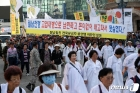 행진하는 월남참전전국유공자총연맹