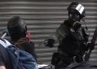 홍콩의 중국인…천안문의 홍콩경찰