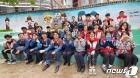 BGF 자원봉사 동호회, 어린이 안전 주제로 벽화 그려