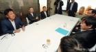 이통3사 대표와 만난 한상혁 방통위원장